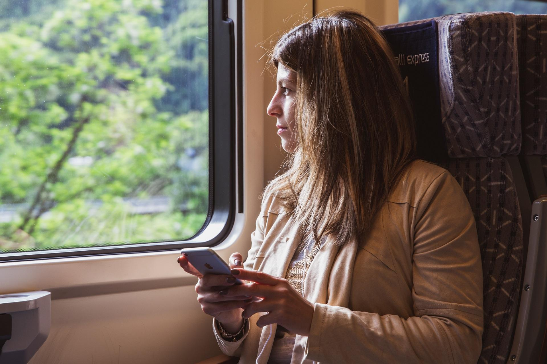 Free audioguides on international trains