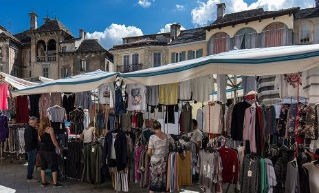 Saturday market in Domodossola